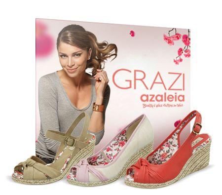 A Azaleia é uma marca de calçados muito conhecida no Brasil todo por produzir calçados belíssimos e de sucesso absoluto. Atua no mercado há mais de 50 anos