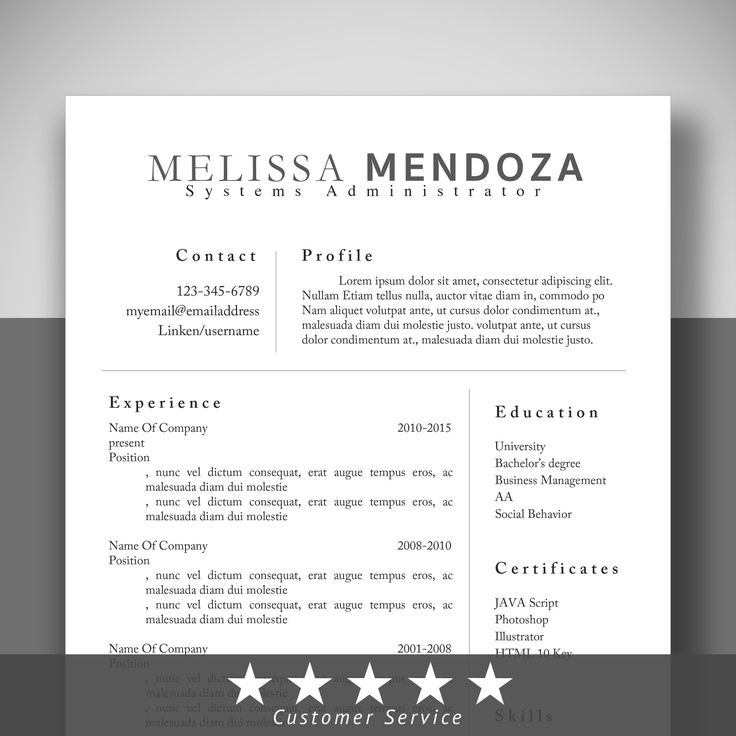 Best Resume Images On   Resume Templates Resume