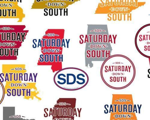 SDS Saturday Down South Free Decal – US