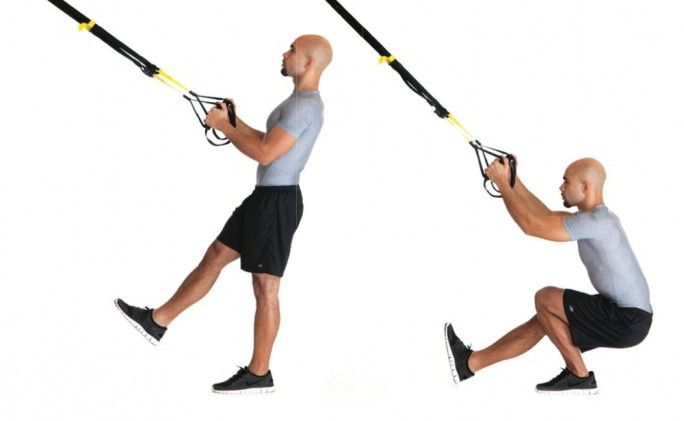 15-Minute Strength Workout For Runners - Competitor.com #TRX #running #strengthtrain