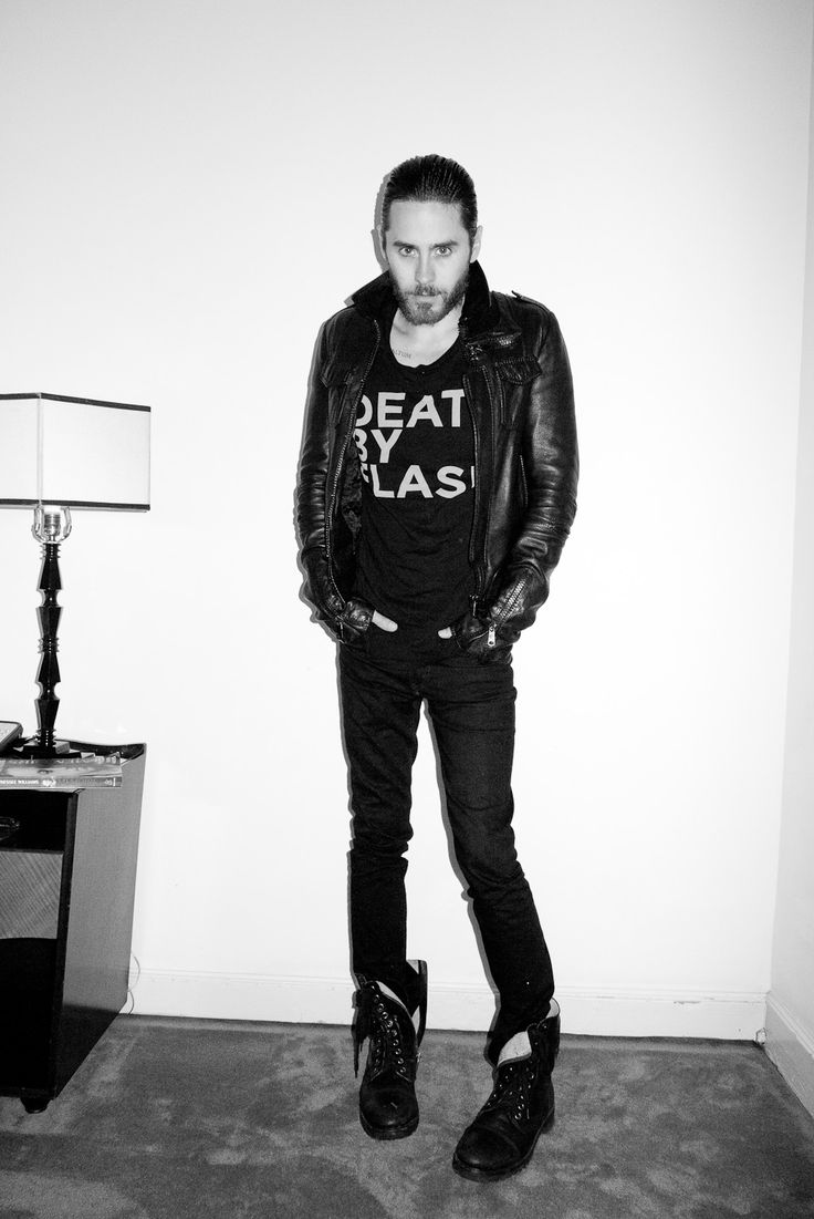 Jared Leto at The Chateau Marmont #1(photo by Terry Richards)
