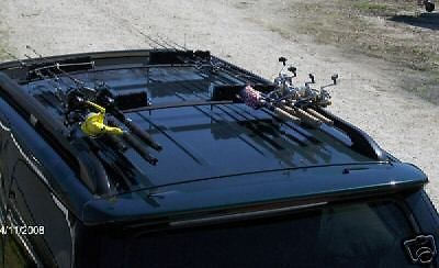 Buy Car / SUV Roof Rack 6 Fishing Rod Carrier / Holder N/R at online store