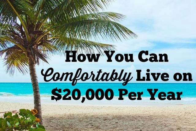 Do you want to reach financial freedom faster? If so, you need to deflate your budget. Learn how you can live on $20,00 per year and reach your goals faster #financialfreedom #money
