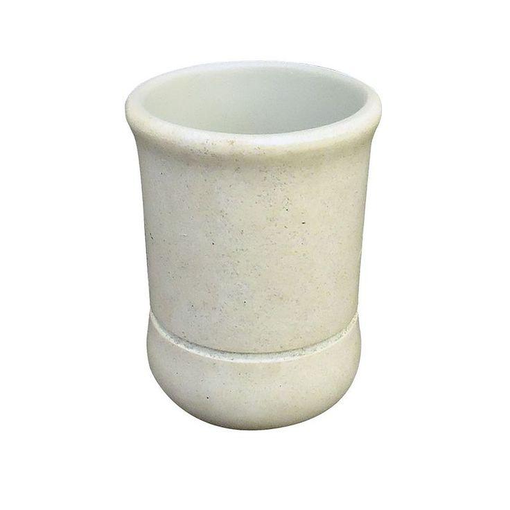 Homewear Stone Tumbler, Beige Oth