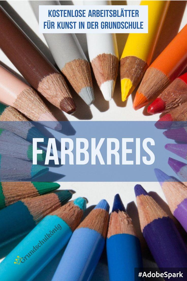 Arbeitsblätter, Übungen und Aufgaben zum Thema Farbkreis in Kunst in der…