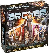 Cryptozoic Entertainment Archer Card Game