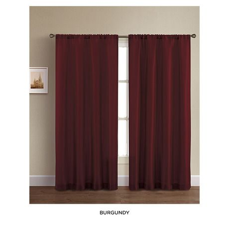 burgundy curtains For the Home Pinterest