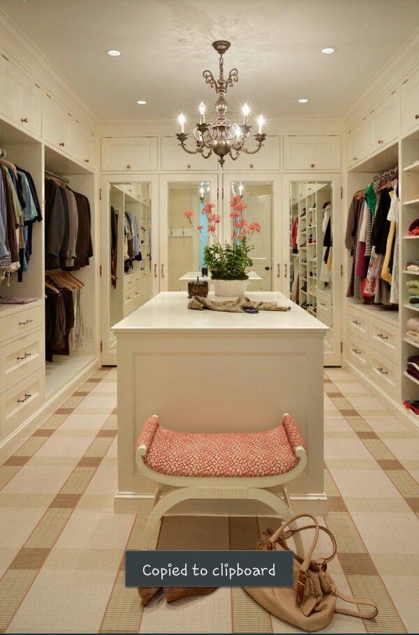 Dream Master Bedroom Closet 49 best home-walk in closets images on pinterest | dresser, closet