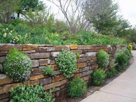 94 best Rock Walls images on Pinterest Rock wall Garden walls