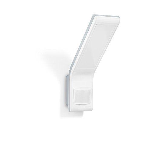 Steinel Sensor LED-Strahler XLED slim anthrazit - Außenleuchte mit 10,5 Watt und 660 Lumen, Wandleuchte mit 160° Bewegungsmelder max. 8 m Reichweite, Ideal für Terassen, Eingänge und Zufahrten, 012052: Amazon.de: Beleuchtung