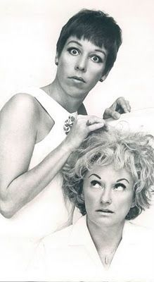 Carol Burnett and Phyllis Diller - 2 of the funny ladies ever. RIP Phyllis.  Back in the days when things were fun.