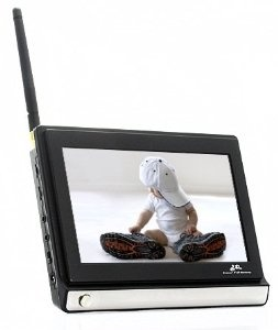 Price $119.99 - Wireless Widescreen 7 Inch LCD Baby Monitor with Night Vision Camera - http://www.amazon.com/gp/product/B00BHI6GK2