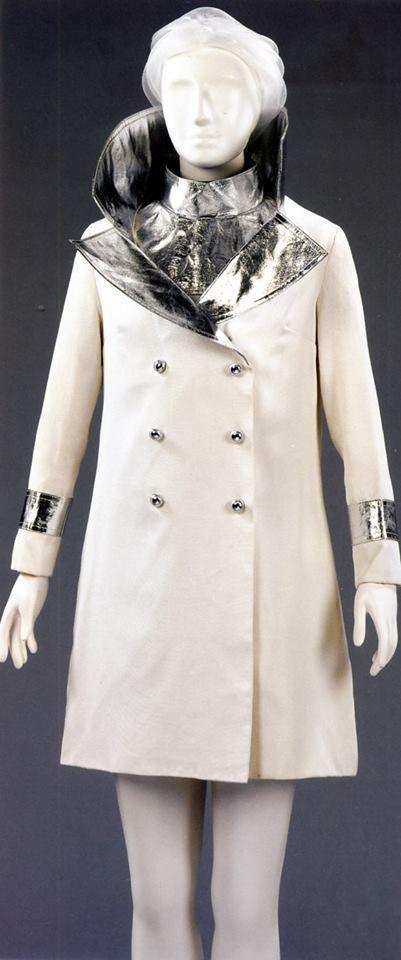 Design by John Bates, for Marit Allen, (Vogue journalist), wedding 1966, <3