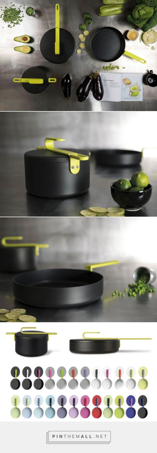 HOOK cookware collection | designed by Karim Rashid for TVS #cookware #KarimRashid