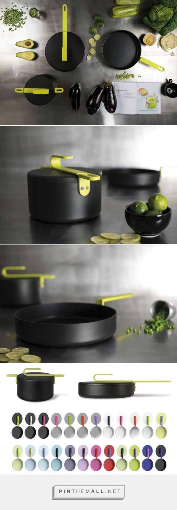 HOOK cookware collection | designed by Karim Rashid for TVS #cookware #KarimRashid