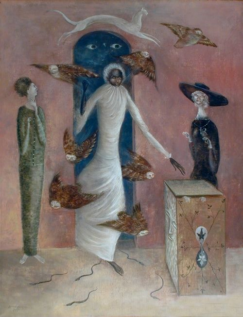 Annunciation ~ Leonora Carrington