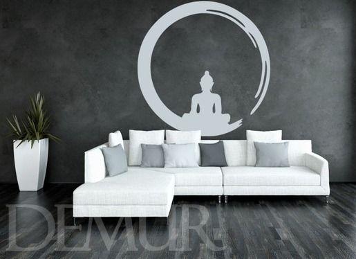 Zen w wielkim mieście - Orientalne - Naklejka na ścianę - Demur