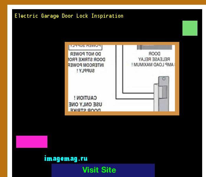 Electric Garage Door Lock Inspiration 100242 - The Best Image Search