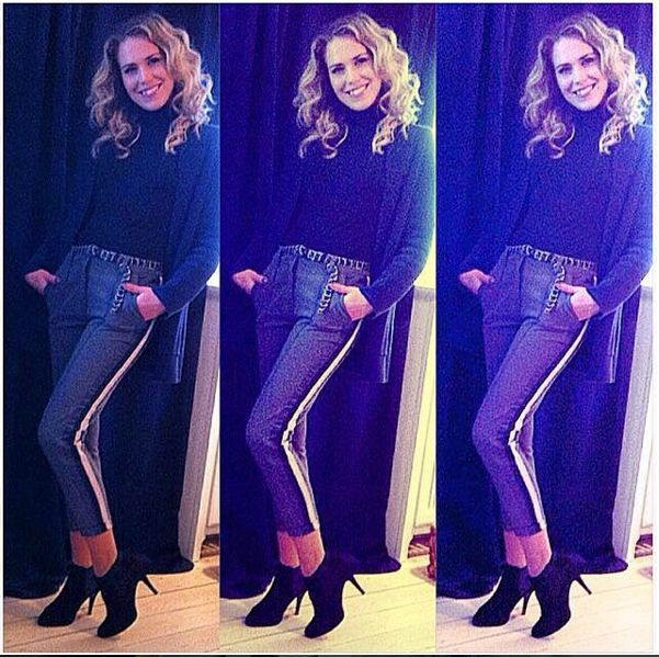 Anna David rocks our Miss Boss boots like no other! ♥