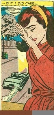 Vintage Comic Proving Big Girls Do Cry