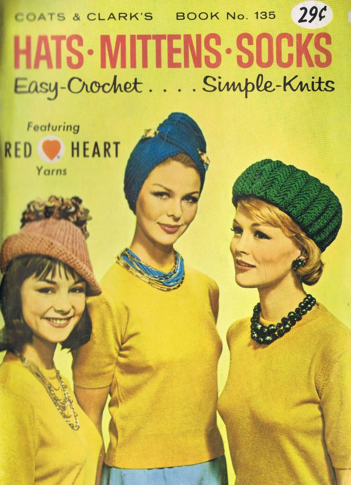 197 Best Vintage Knitting Crochet Patterns Dazespast Images On