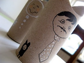 Mr. and Mrs. Toilet Roll