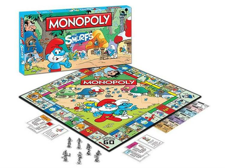 The Smurfs Monopoly - The Smurfs Games