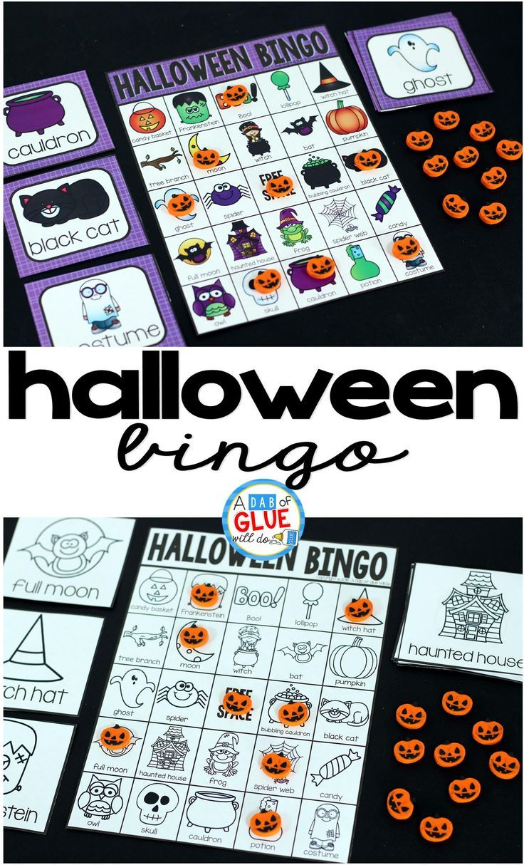 halloween bingo - Halloween Games For Groups