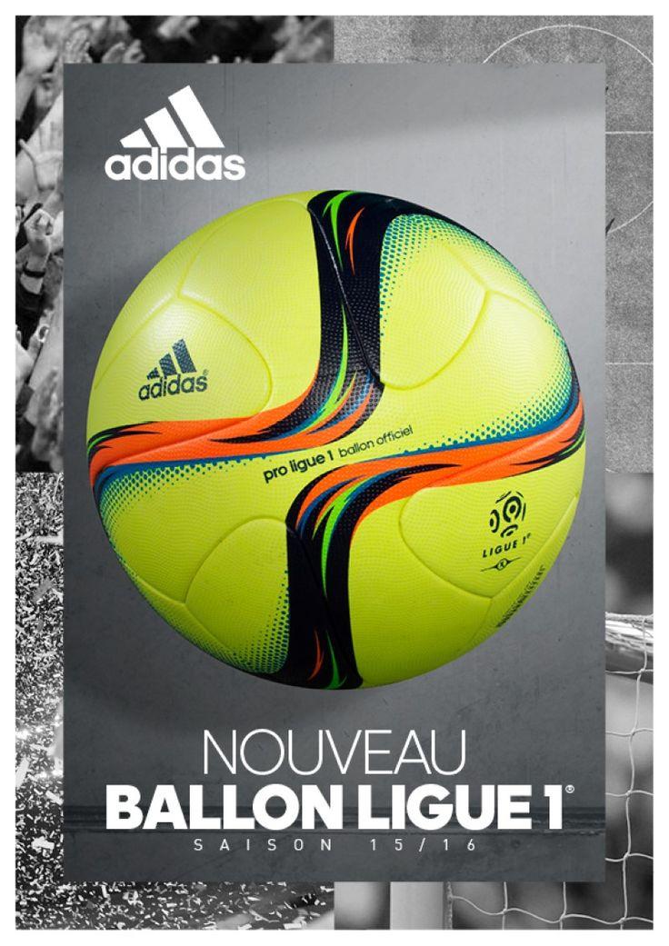 adidas et la Ligue de Football Professionnel (LFP) dévoilent le nouveau ballon de match officiel de la phase retour de Ligue 1 qui sera utilisé à l'occasion