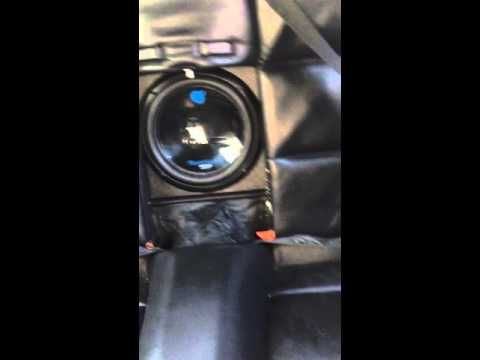 (42) E46 M3 Convertible Custom Ski Pass Subwoofer with Eonon GA5150f - YouTube