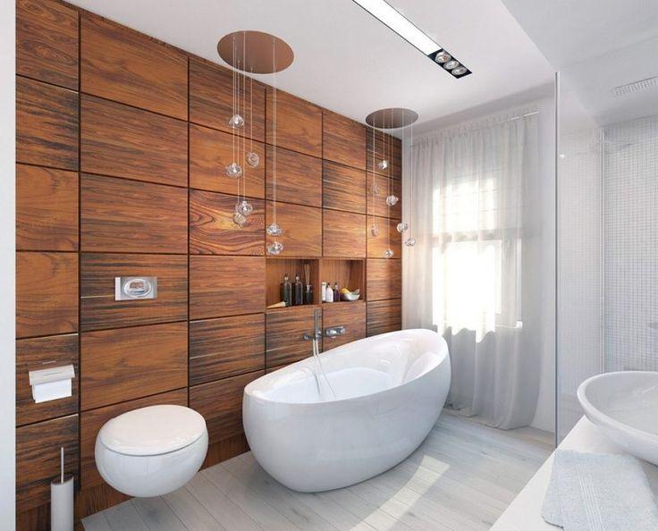 Přes 25 nejlepších nápadů na téma Wandverkleidung Bad na - badezimmer ideen für kleine bäder