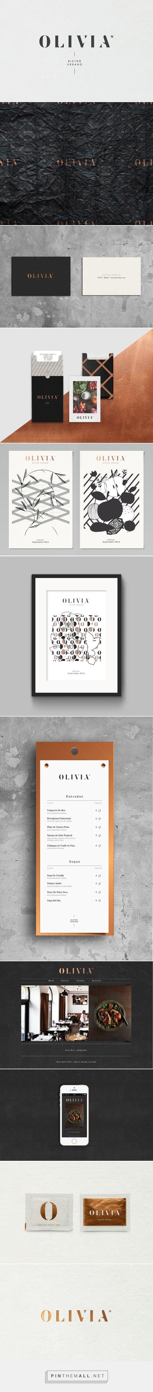 Olivia Bistro Urbano Branding on Behance | Logo Designer Bradenton, Web Design Sarasota, Tampa Fivestar Branding Agency