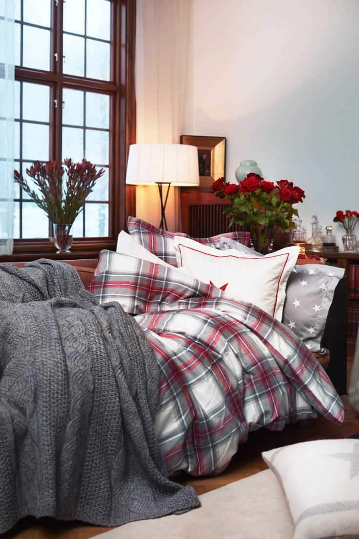 Best 25 plaid bedding ideas on pinterest plaid bedroom winter bedding and rustic bedding - Winter bedroom decor ...