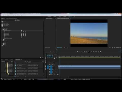 Adobe Premiere Pro CC How to Fade Into and Out of a Video Clip - YouTube