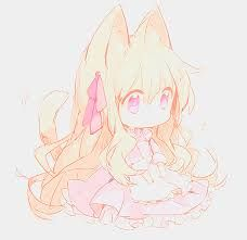 Image result for blonde anime girl chibi cute