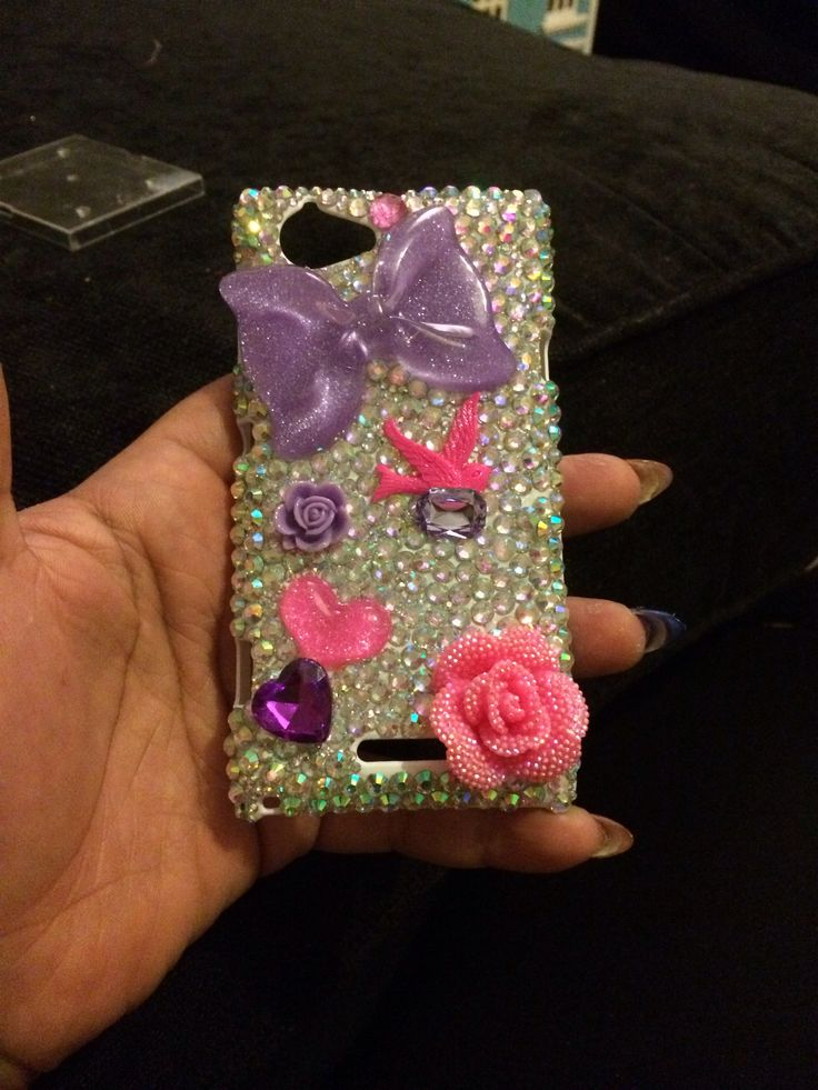 Glamour phone case!