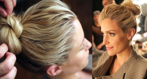 How To: Make Your Own Punk Knot Updo | E! Online Mobile