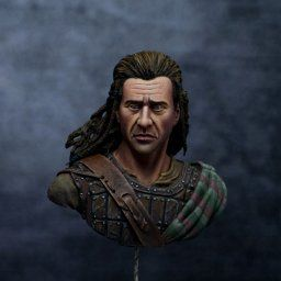 Completed Critique - The Scottish bust from Nocturna Models