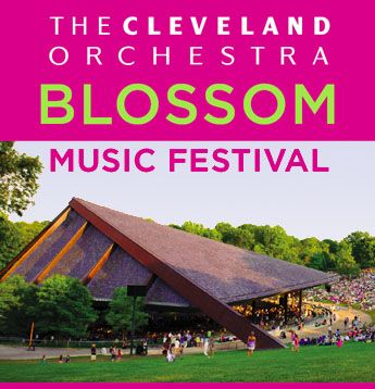 It must be summer -- The Cleveland Orchestra is at Blossom Music Center!