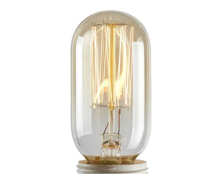 Ampoule décorative à filaments verre, transparent et doré - H11 | Westwing Home & Living