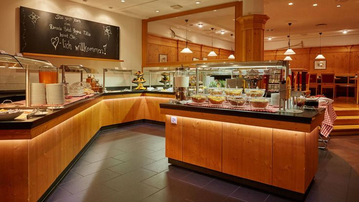 Frühstücksbuffet im Schweizer Ramada Hotel Engelberg