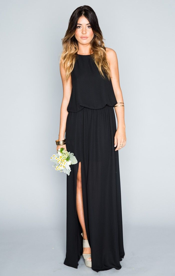 1000  ideas about Black Bridesmaid Dresses on Pinterest | Black ...