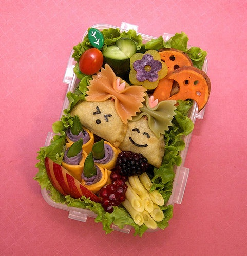 Bento lunch ideas for the kids