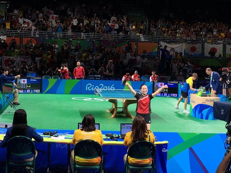 #卓球 伊藤美誠選手 @MSLpN5xiejmc2Ho は、卓球で最年少のメダリストとなりました👏🏼👏🏼👏🏼👏🏼  #オリンピック #リオ2016 #リオ五輪