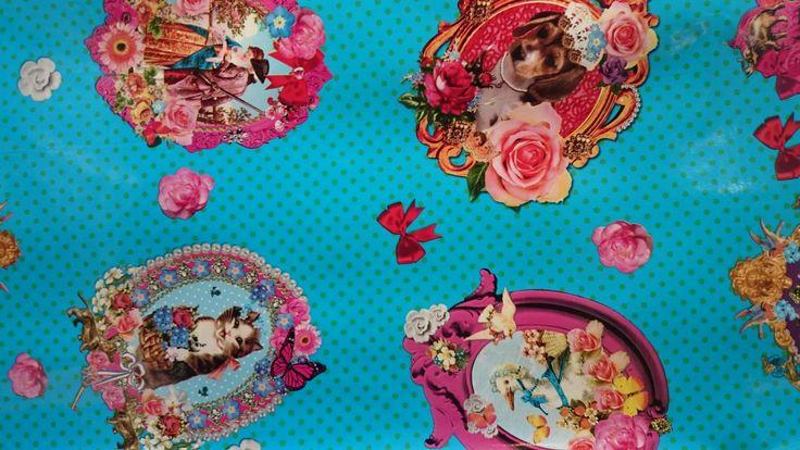 Super gezellige kitsch | kleurrijk | tafelzeil | VIA CANNELLA KINDERWINKEL | CUIJK | www.viacannella.nl