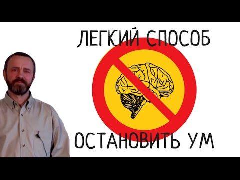 Легкий способ остановить ум (Сергей Данилов)