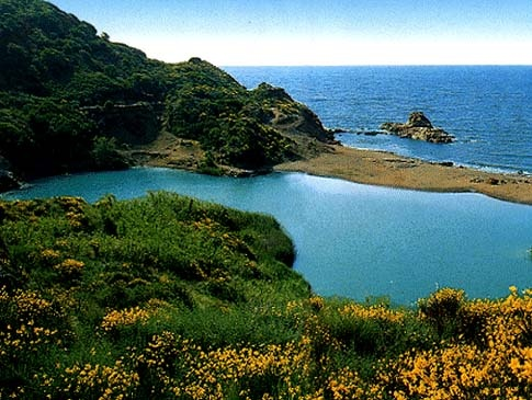 #Italy #travel #tuscany  #beach #elba laghetto di Terranera , Isola d'Elba