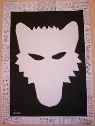 """Résultat de recherche d'images pour """"masque de loup maternelle"""""""