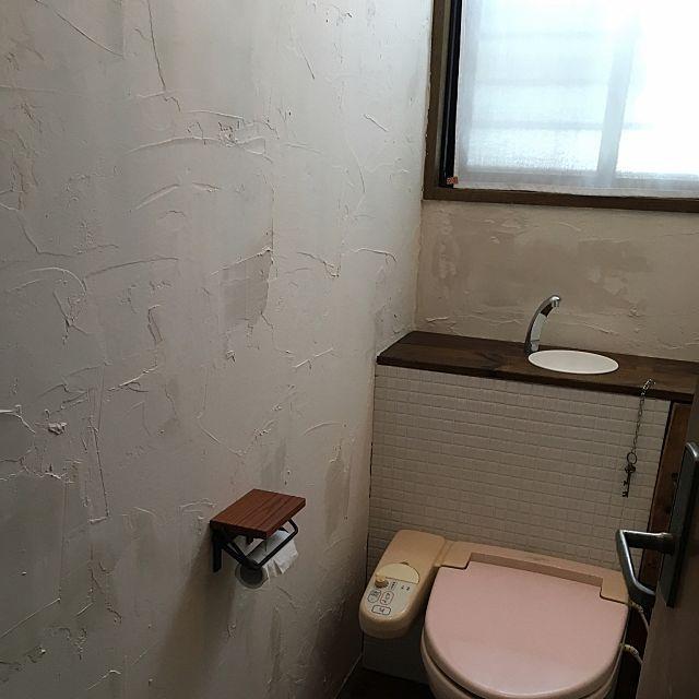 憧れ漆喰壁diyに簡単トライできるかも 漆喰壁 しっくい壁 壁