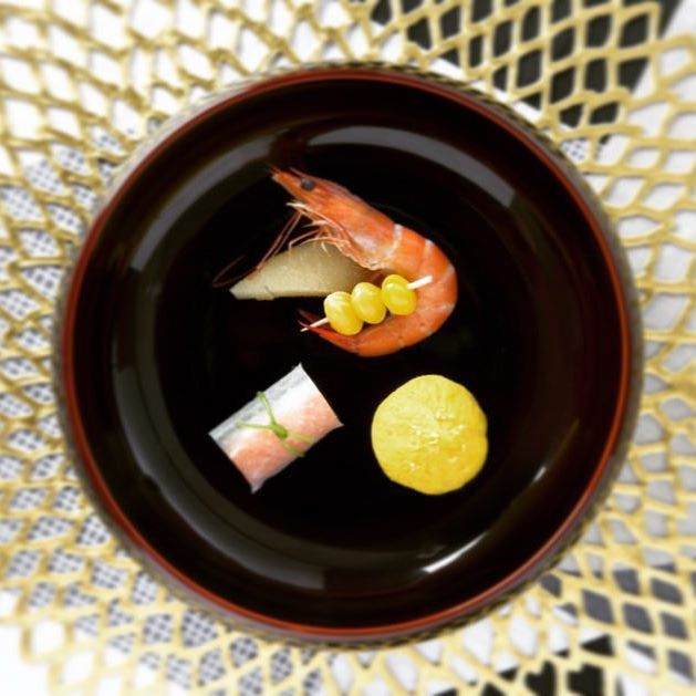 お正月のおもてなしのひと皿。 Fudanシリーズ_きょうかはち溜色   http://j-cocomo.jp